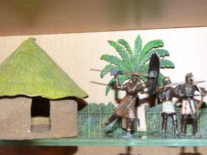 Krause, Gotha - Dahomey kämpfende Amazonen