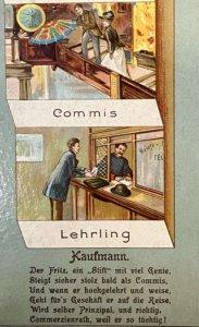 Vom Lehrling zum Commerzienrat
